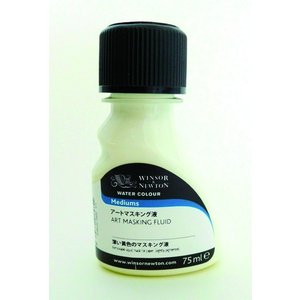 WINSOR&NEWTON ウォーターカラーメディウム アートマスキング液 75ml|antiquarii88