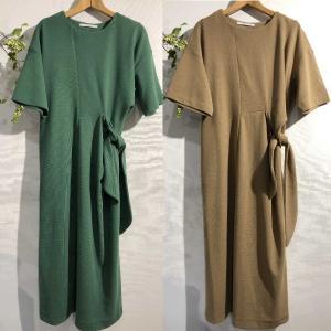Johnbull ジョンブル ジャージーツイストカットドレス aw756 レディース antiquebeach