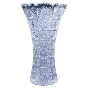ボヘミアガラス MAIA クリスタル花瓶 チェコ製  MA-803|antiquesjikoh