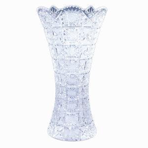 ボヘミアガラス MAIA クリスタル花瓶 チェコ製  MA-804|antiquesjikoh
