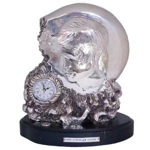 ERMES OTTAVIANI SCULTORE 時計付き オブジェ antiquesjikoh