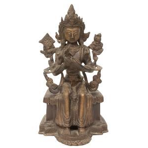 チベット 仏像 ブロンズ製|antiquesjikoh