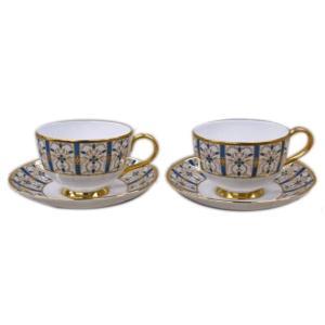 ミントン(MINTON) ティーカップ&ソーサー ロイヤルアーテクチャーコレクション ペア 未使用品|antiquesjikoh