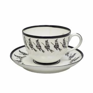 アンティーク ロマーニ― フォーチュンテリン 紅茶占い ティーカップ&ソーサー 魔女 タロットカード|antiquesjikoh