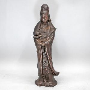 備前焼 「菩薩像」 antiquesjikoh