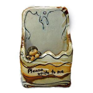 阿部和唐 レターポスト 「Please write to me」|antiquesjikoh