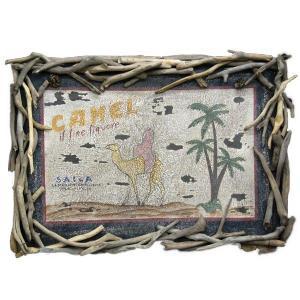 ヴィンテージ加工 木製看板 「CAMEL」|antiquesjikoh