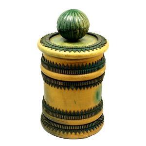 イタリア製 ヴィンテージ レザー 瓶 |antiquesjikoh