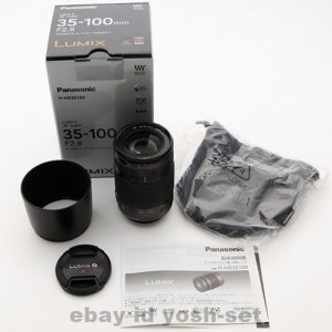 ライカ Panasonic LUMIX G X VARIO 35-100mm F2.8 POWER O.I.S. Lens Japan EMS Shipping カメラ レンズ