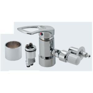 材質:黄銅、亜鉛(789-702-JY1は黄銅、ABS)  温水同時・分水分湯ができます。(JY1 ...