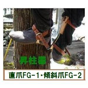 藤井電工 昇柱器「FG-2」 ツヨロン 傾斜爪の昇降機 ★おまけ付★ anyoujiya-1