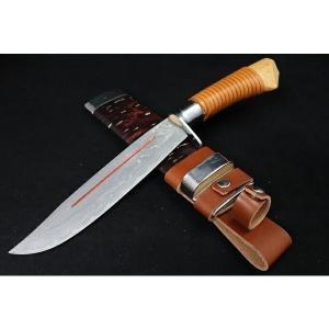 剣鉈 「kennata-3」刃長205mm 紐巻 青紙積層 山刀 アウトドアーナイフ 狩猟用  |anyoujiya-1