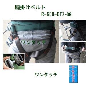 腿(もも)かけベルト「R-600-OT2-DG」 スチール製 補助ベルト ワンタッチ |anyoujiya-1
