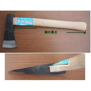 手斧 手ヨキ 「zenko-teyoki-01」 刃巾62mm、刃の長さ128mm、柄付重さ730g |anyoujiya-1