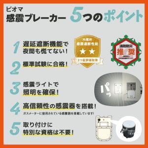 ピオマ「感震ブレーカー」と「ここだよライトS」のセット販売|anzen-net|12