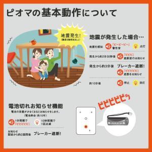 ピオマ「感震ブレーカー」と「ここだよライトS」のセット販売|anzen-net|13