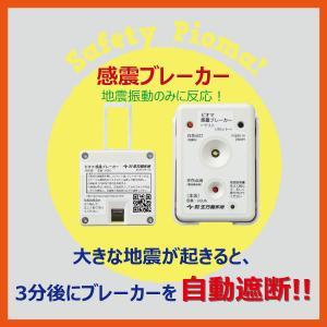 ピオマ「感震ブレーカー」と「ここだよライトS」のセット販売|anzen-net|10