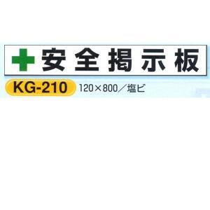 安全掲示板部品 現場用掲示板パーツ 小 KG-210 120×800mm|anzen-signshop