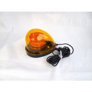 ハイパワー車載型LED回転・点滅灯 ・カラー:黄色  ◯回転と点滅を手元スイッチで切り替えができます...