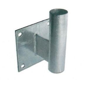カーブミラー取付金具 支柱部分 直径34.0mm L型壁用金具 ナック・ケイ・エス|anzen-signshop