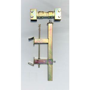 ガードレール用看板取付金具 幅 28cm用(スリム看板用)|anzen-signshop