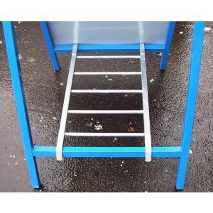 工事用はしご型看板サポート金具 看板用ウエイト 10個セット|anzen-signshop