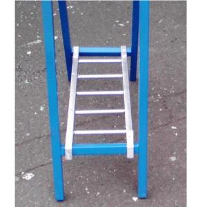 スリム看板用はしご型看板サポート金具 看板用ウエイト 10個セット|anzen-signshop