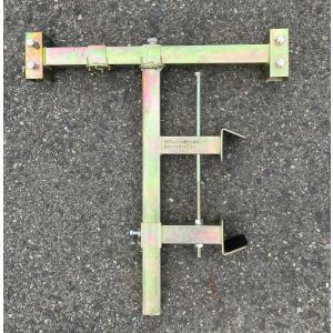 ガードレール用看板取付金具 幅 55cm用|anzen-signshop