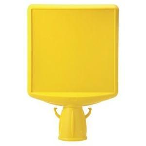 コーン用表示板 コーンサイントップII 特注 両面 874-862A|anzen-signshop