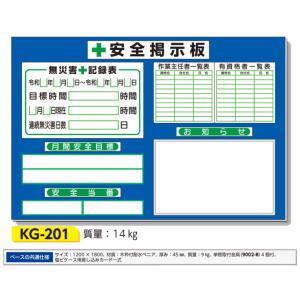 安全掲示板 小型安全掲示板 1200×1800 KG-201 anzen-signshop