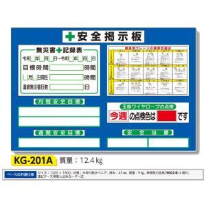 安全掲示板 小型安全掲示板 1200×1800 KG-201A anzen-signshop