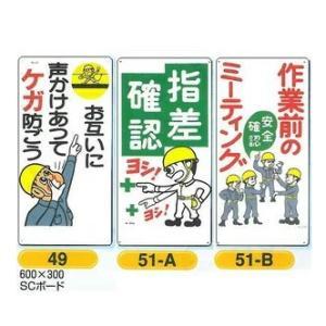 危険予知標識 指差確認 作業前のミーティング 600×300 |anzen-signshop