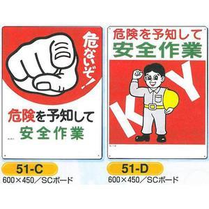 危険予知標識 危険を予知して安全作業 600×450 |anzen-signshop