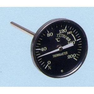 アスファルト温度計 80φ黒 アスファルト舗装 温度測定用|anzen-signshop