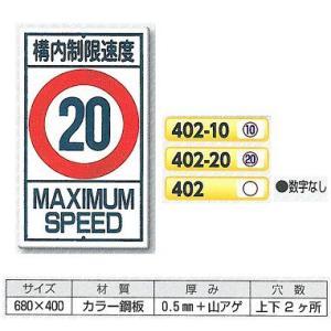 構内・場内交通安全標識 構内制限速度|anzen-signshop