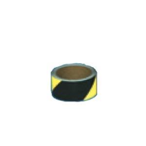コンクリート用ゼブラ反射テープ 45mm×10m  黄/黒 TP-505|anzen-signshop