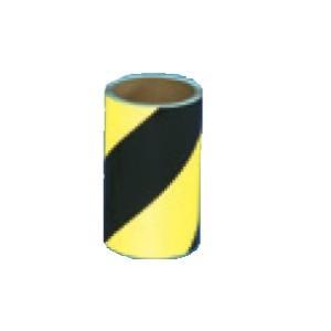 コンクリート用ゼブラ反射テープ 150mm×10m  黄/黒 TP-507|anzen-signshop