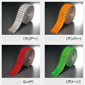 レフテープ 反射デリネータタイプ 粘着性あり 簡単貼付け 高輝度反射 TP521|anzen-signshop