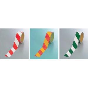 反射テープ ダイヤテープ 反射トラテープ 粘着性 赤・白 黄・赤 緑・白 ゼブラ 45mm幅|anzen-signshop