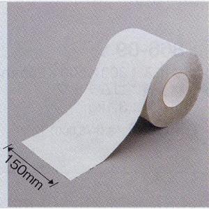 駐車場用路面反射ラインテープ(粘着性) 150mm幅×45.7m 白 866-14|anzen-signshop