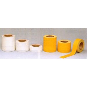 駐車場用路面専用テープ(粘着性) 50mm幅×5m 白・黄 TP-200|anzen-signshop