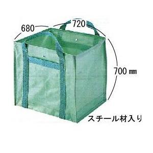 自立式グリーンバック  落ち葉・草・ゴミ回収用 大 310リットル|anzen-signshop
