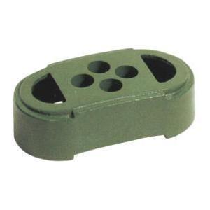 鋳物ブロック 3個セット 除草用飛散防止ネット(大) 手持ち 補助棒付き自立用 |anzen-signshop