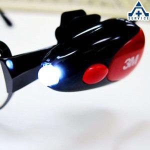 眼鏡用 作業灯 3M LEDクリップライト(2個入)(ネコポス対応/代引き不可)|anzenkiki