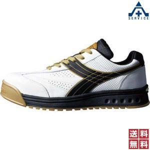 安全靴 ディアドラPEACOCK(ピーコック) PC-12 ホワイト/ブラック|anzenkiki