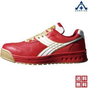安全靴 ディアドラPEACOCK(ピーコック) PC-31 レッド/ホワイト|anzenkiki