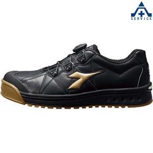 安全靴 ディアドラ フィンチ FC-292 ブラック/ゴールド/ブラック|anzenkiki