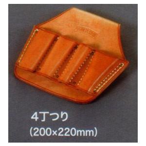 【皮革製ペンチ差し 4丁つり】  anzenkiki