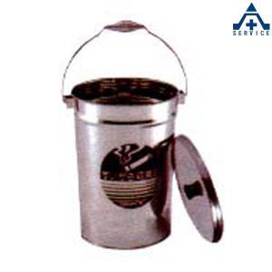 吸いがら収集缶 (ステンレス)工事現場 喫煙所 吸い殻入れ 吸殻入れ すいがら入れ|anzenkiki