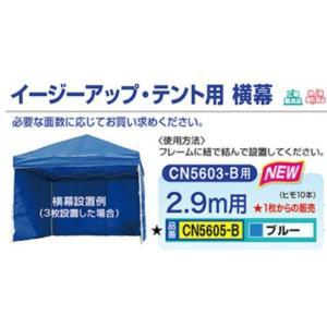 熱中症対策 グッズ イージーアップ・テント用横幕 CN5605-B|anzenkiki